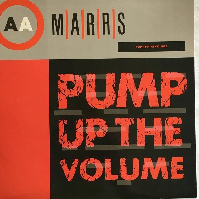 【12inch・米盤】M|A|R|R|S / Pump Up The Volume
