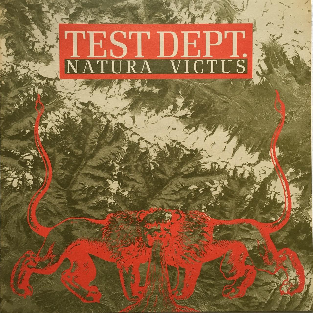 【12inch・ベルギー盤】Test Dept.  /  Natura Victus