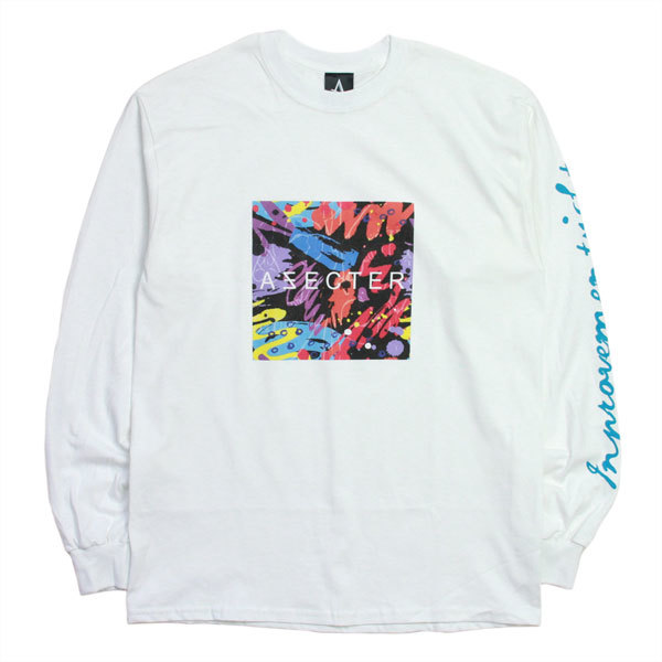 AFFECTER (アフェクター) | 90's L/S Tee (White)