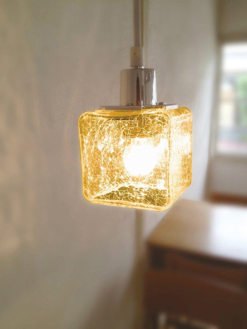 ペンダントライト LED使用可 Crack cube ~クラックキューブ~  CC-40281、2 キシマ - 画像3