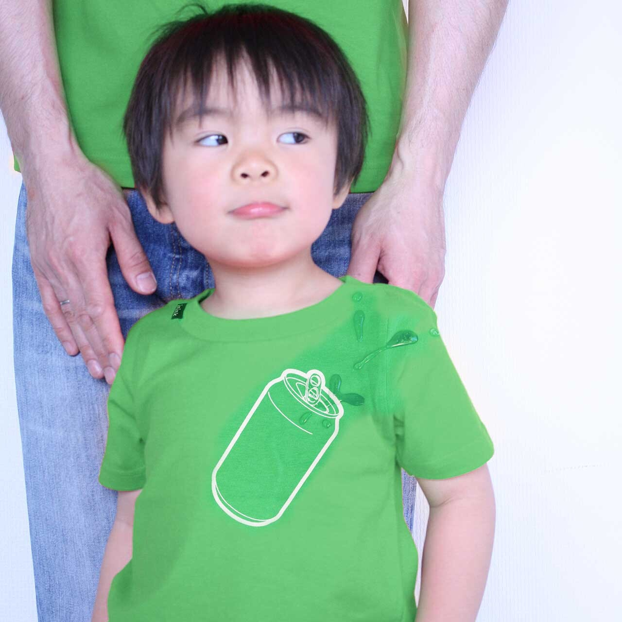 KIDS can Tシャツ(グリーン)