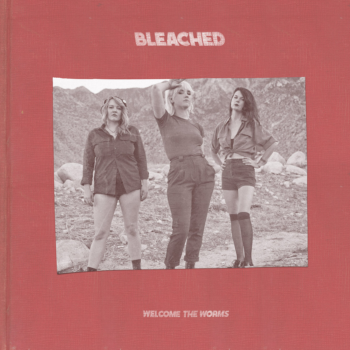 Bleached / Welcome The Worms(LP)