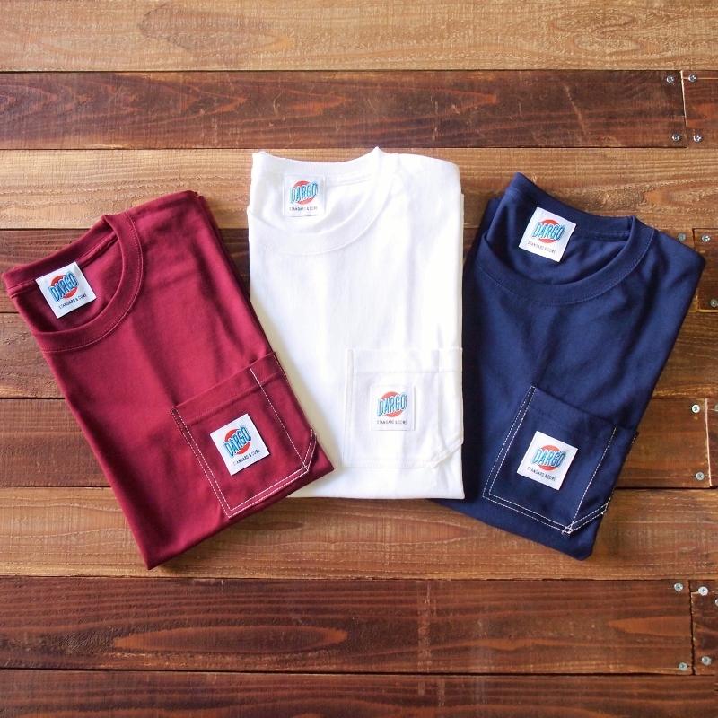 【DARGO】Working Pocket T-shirt (3color)
