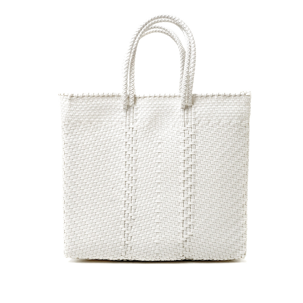 MERCADO BAG ESPIGA - White(M)