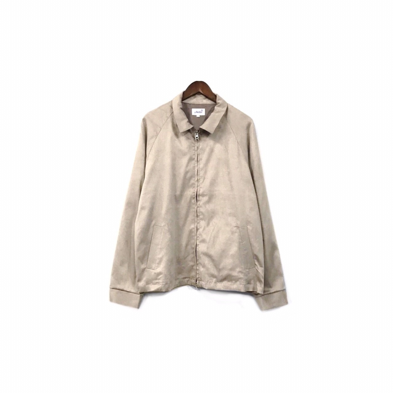 yotsuba - Fake Suede Swingtop Jacket / Beige ¥34000+tax
