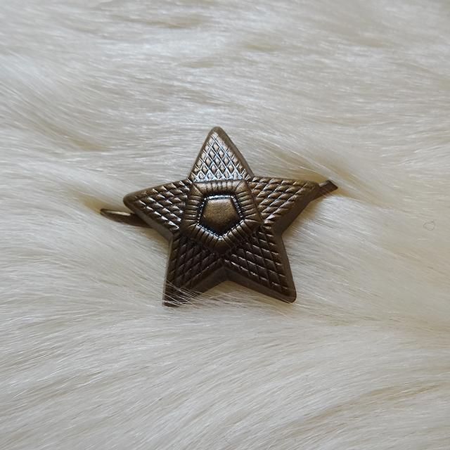 チェコスロバキア軍 星型ピンバッジ