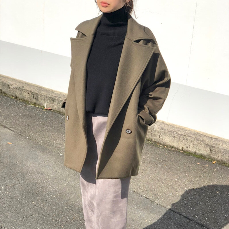 【  CYNICAL 】- 050-94502 - over sized half coat