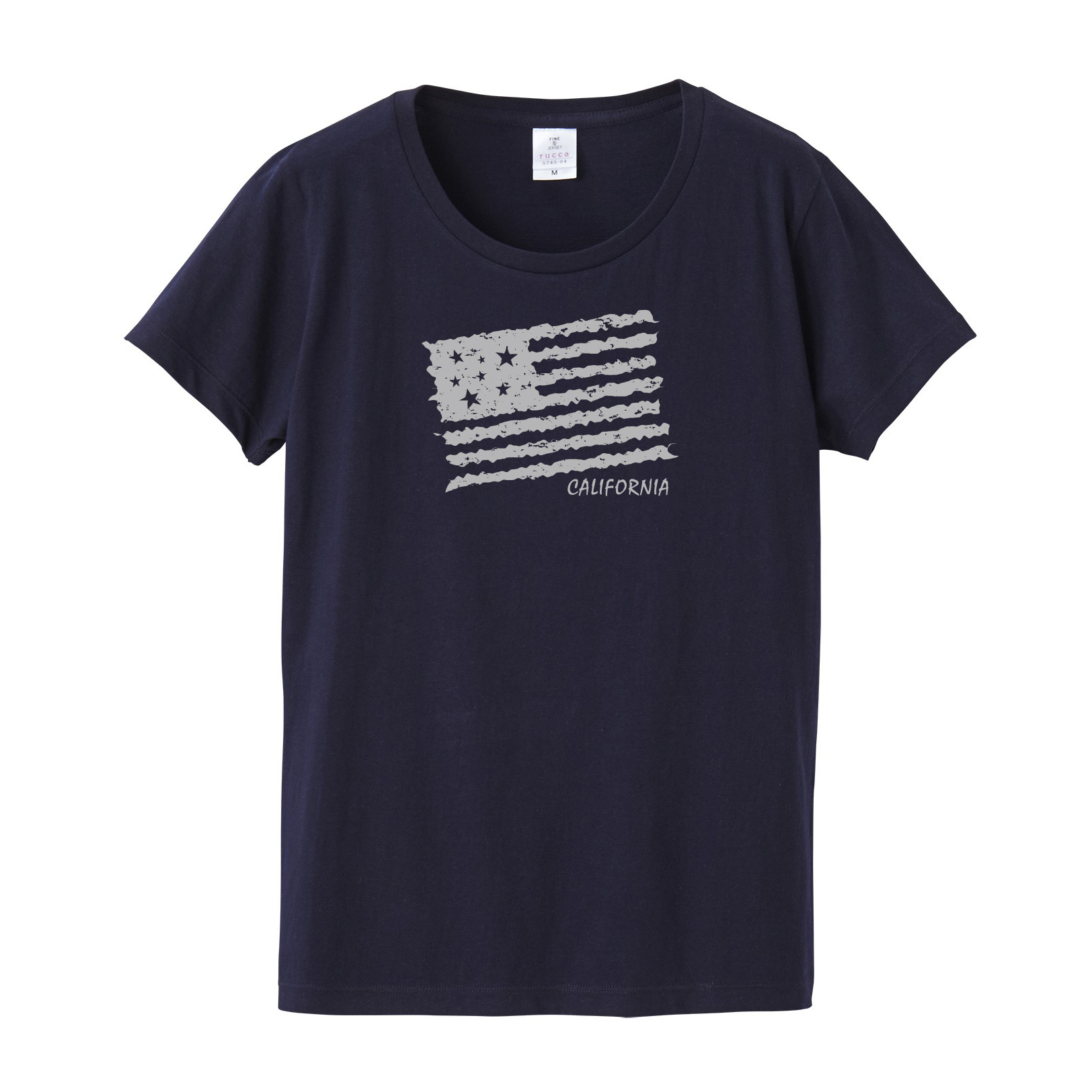 ★Ladies★ US flag Tee
