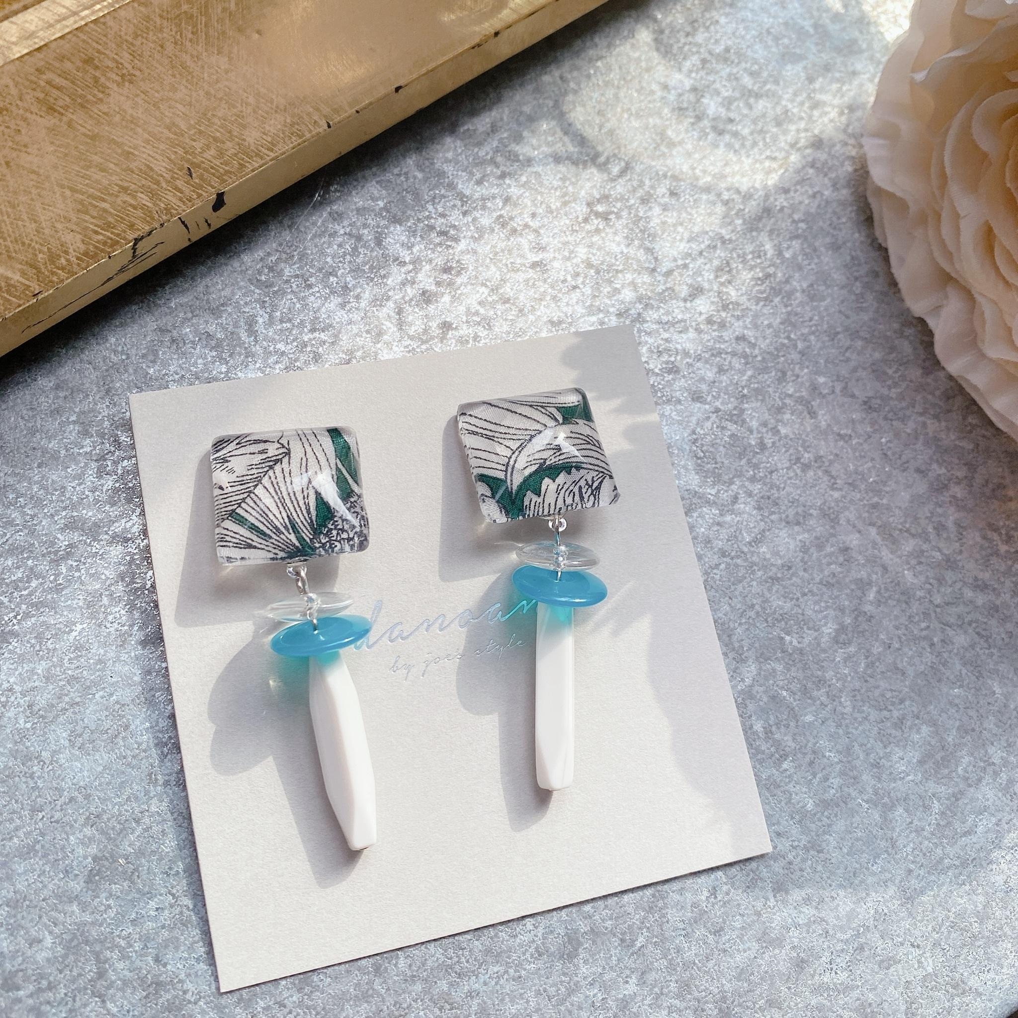 """"""" Earrings NO.danoan-107″ リバティシャープデザイン"""