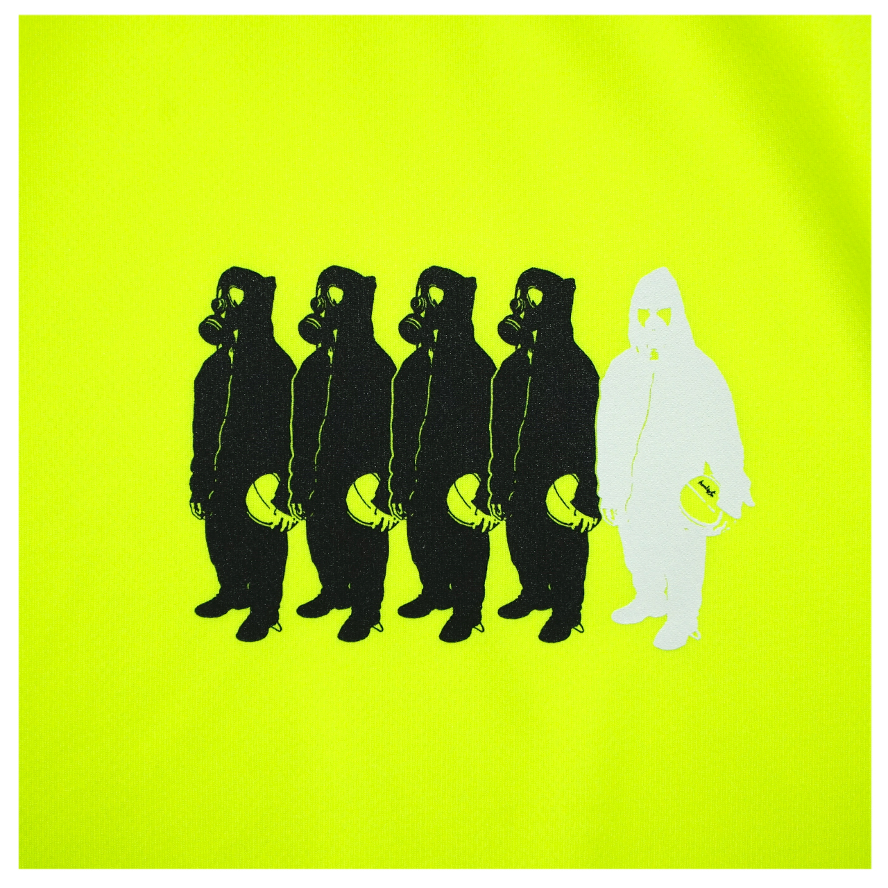 Little MICKYS 019 S/S PL <F.Yellow×Black×White > - 画像2