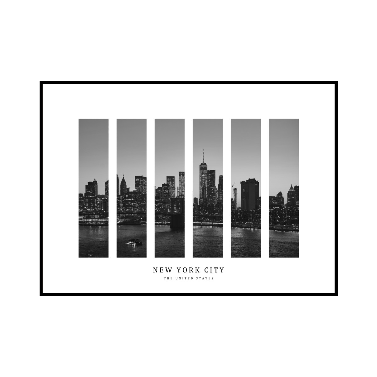 """NEW YORK CITY"" US - POSTER [SD-000596] A4サイズ ポスター単品"