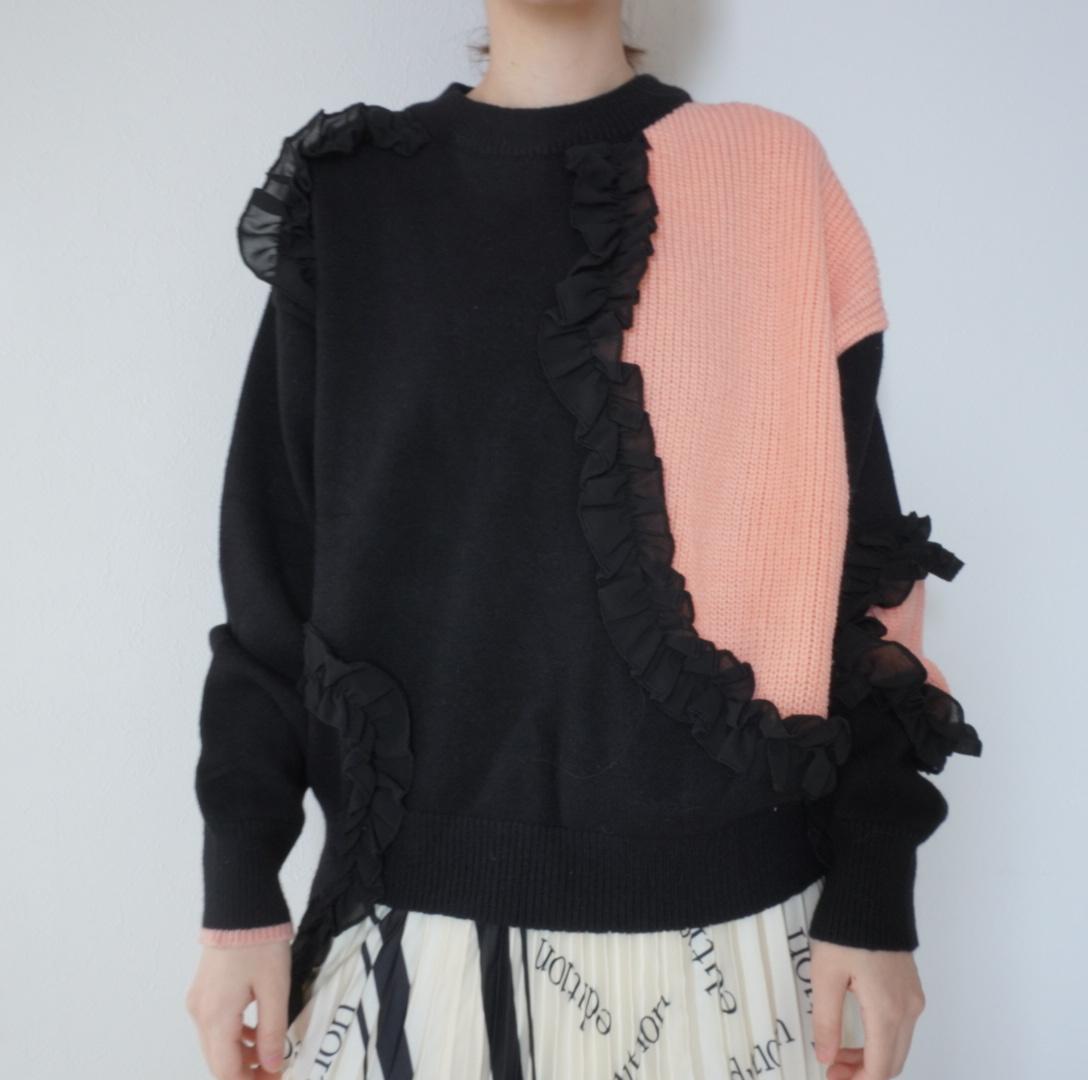 カラーマッチングセーター