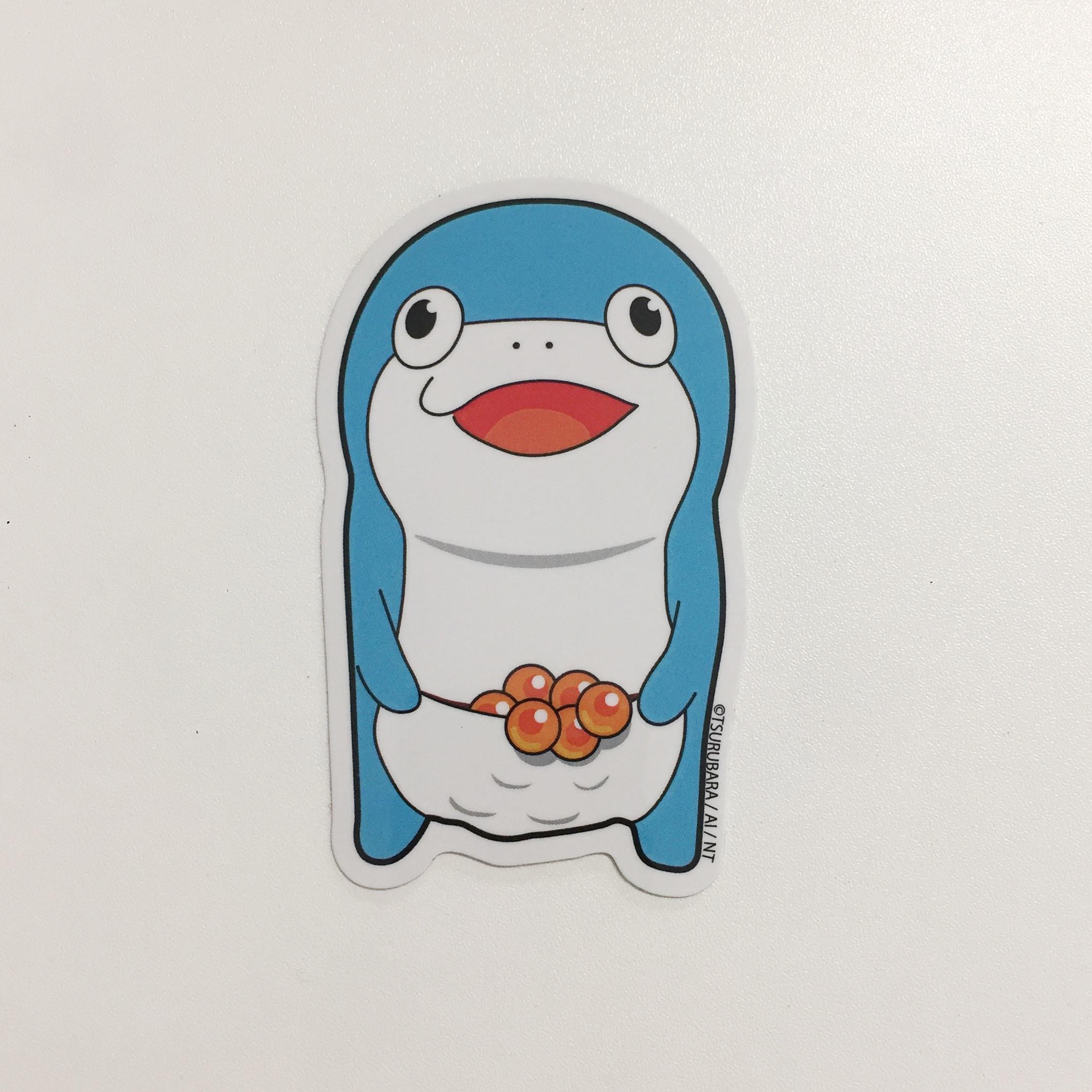 コイスステッカー(正面・青)