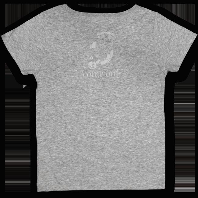 【残り僅か】「ピノキオピー2015年祭りだヘイカモン」Tシャツ(レディース/メランジグレー) - 画像2