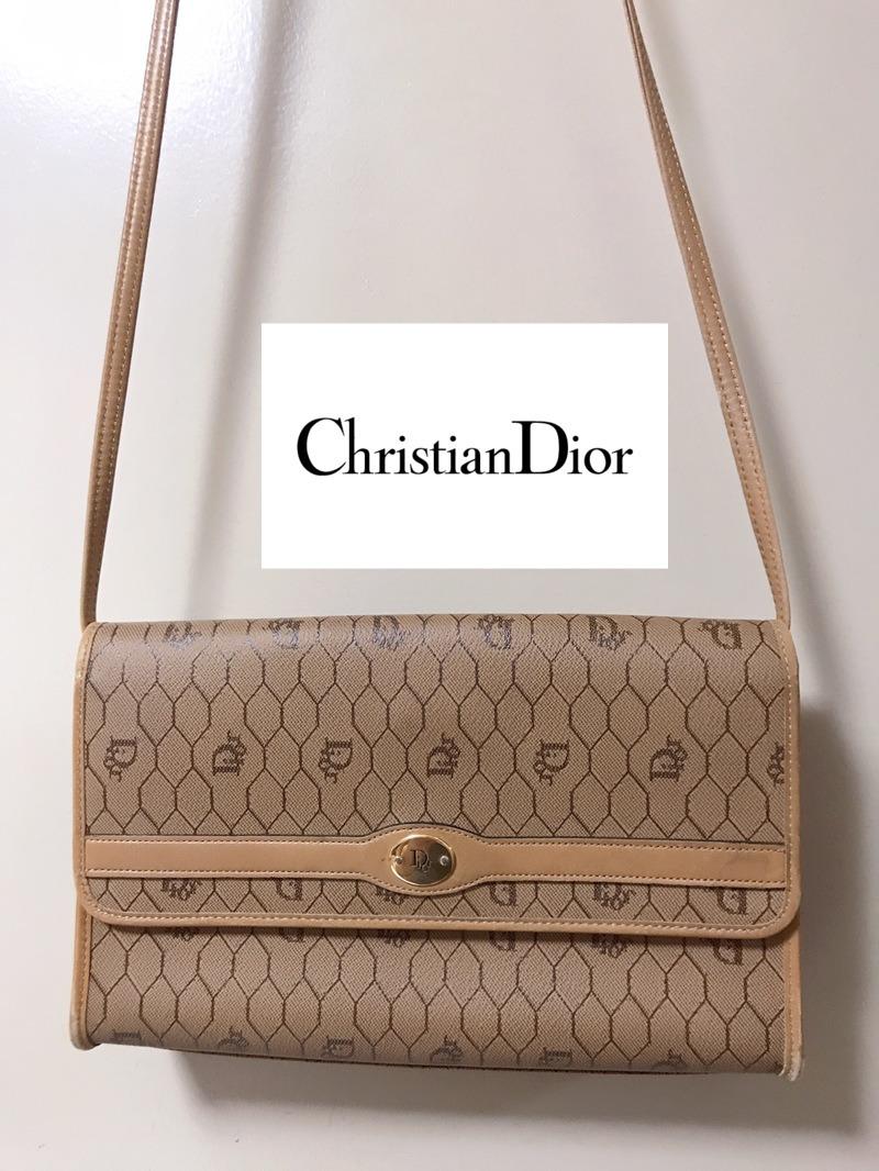 Dior ディオール ショルダーバッグ キャンバス×レザー レディース クラシカル