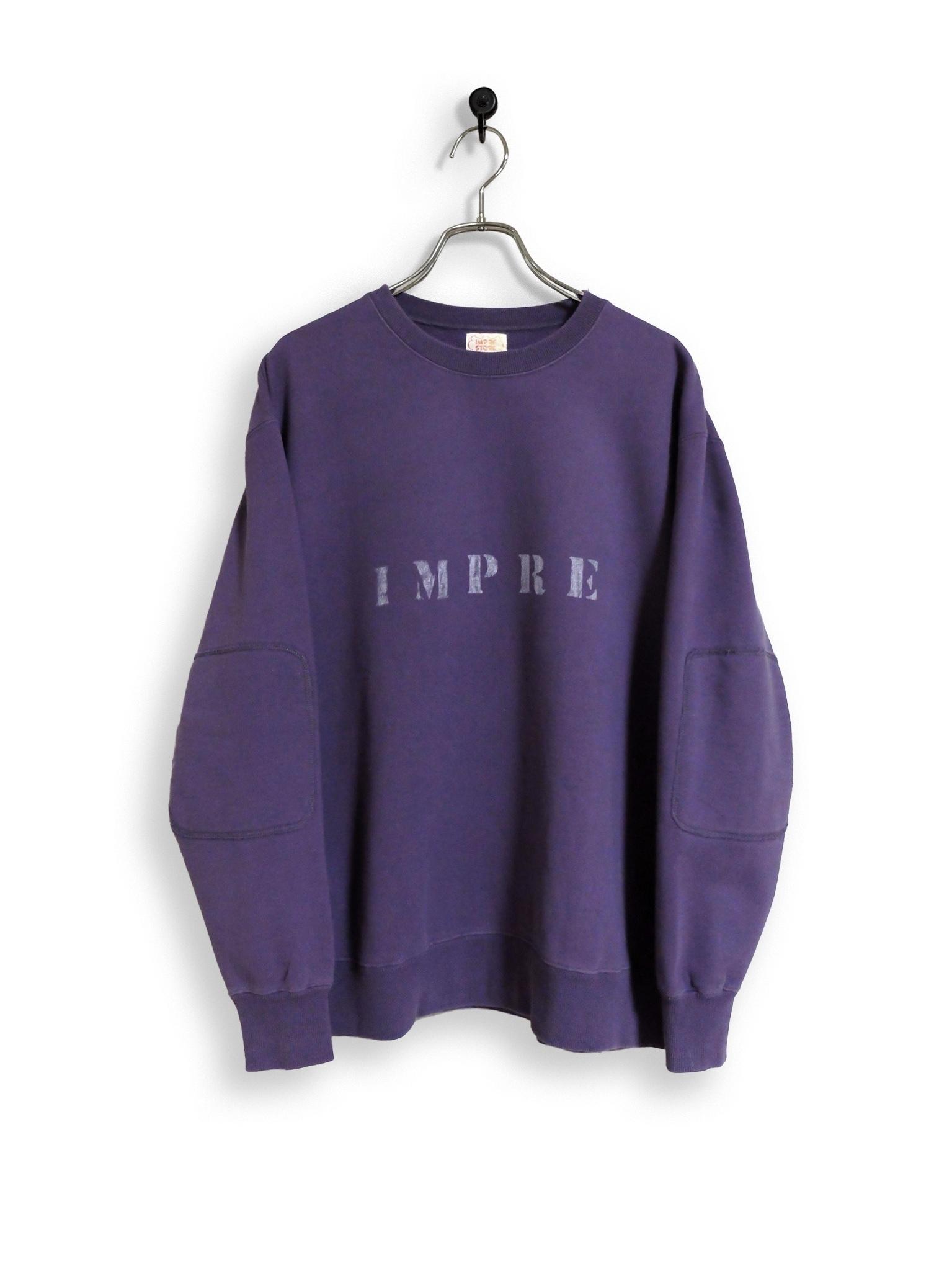 Original Sweatshirt / stencil / purple