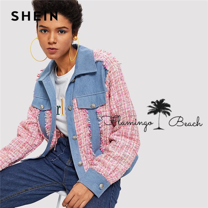 【FlamingoBeach】multicolor jacket