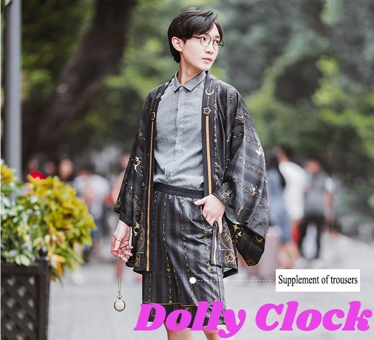 【在庫あり】ロリータ羽織~星の砂時計~