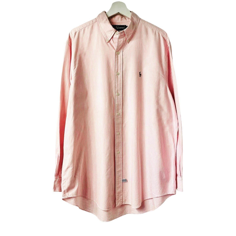 Ralph Lauren stripe OX B.D shirt