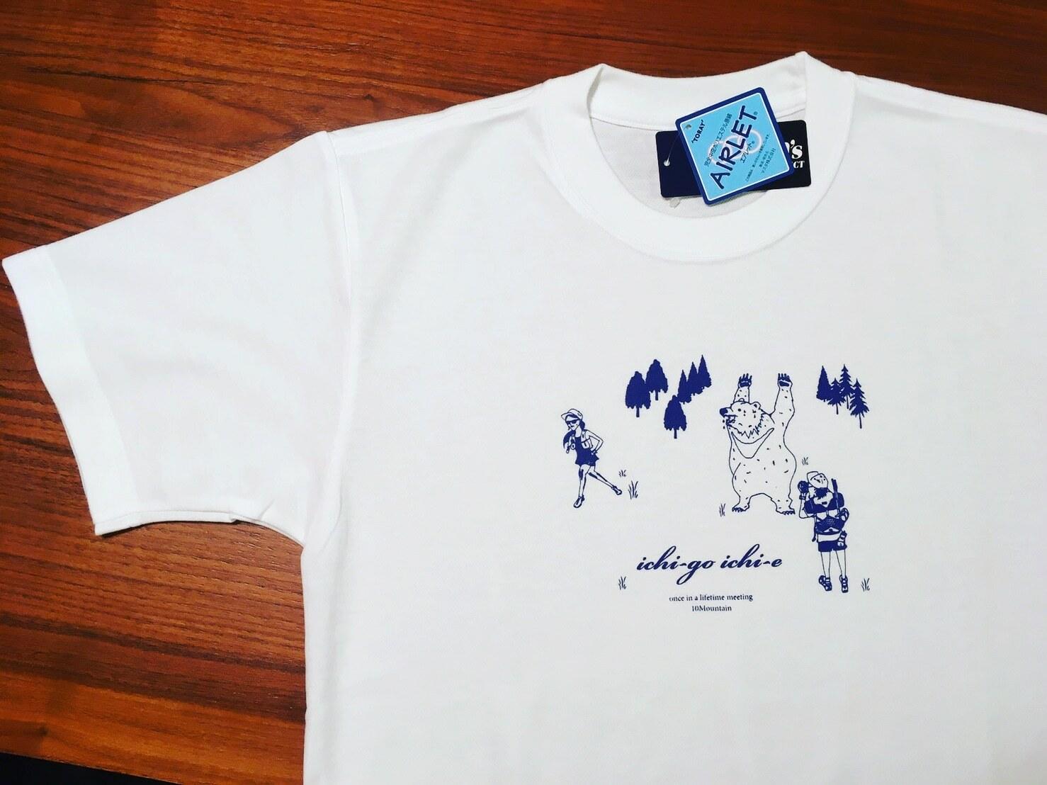 ichi-go ichi-e white T shirts