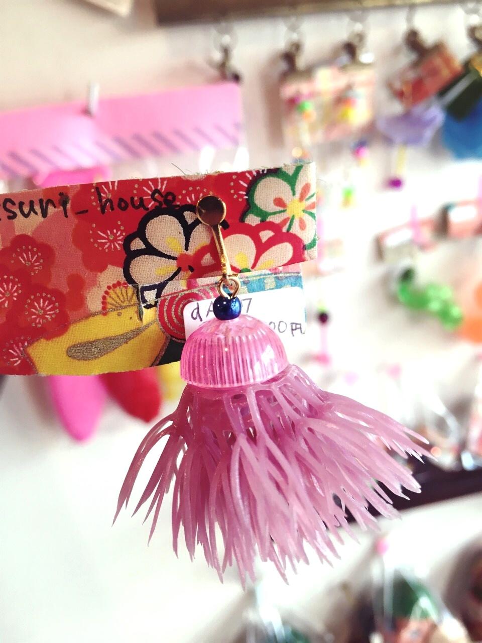 omatsuri house お花イヤリング