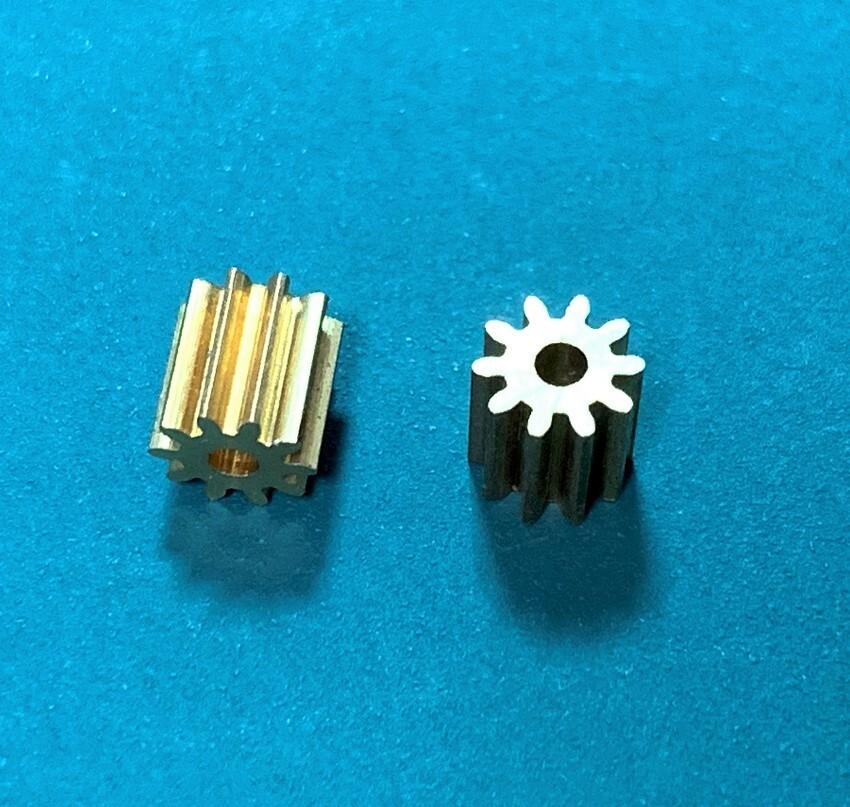 ◆K130 10T互換メタルピニオンギア 2個セット