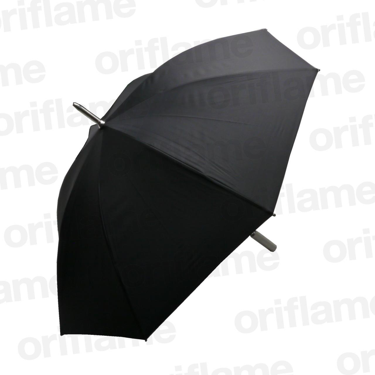 傘・アストンマーティン・ロゴ入りグリップ・ブラック