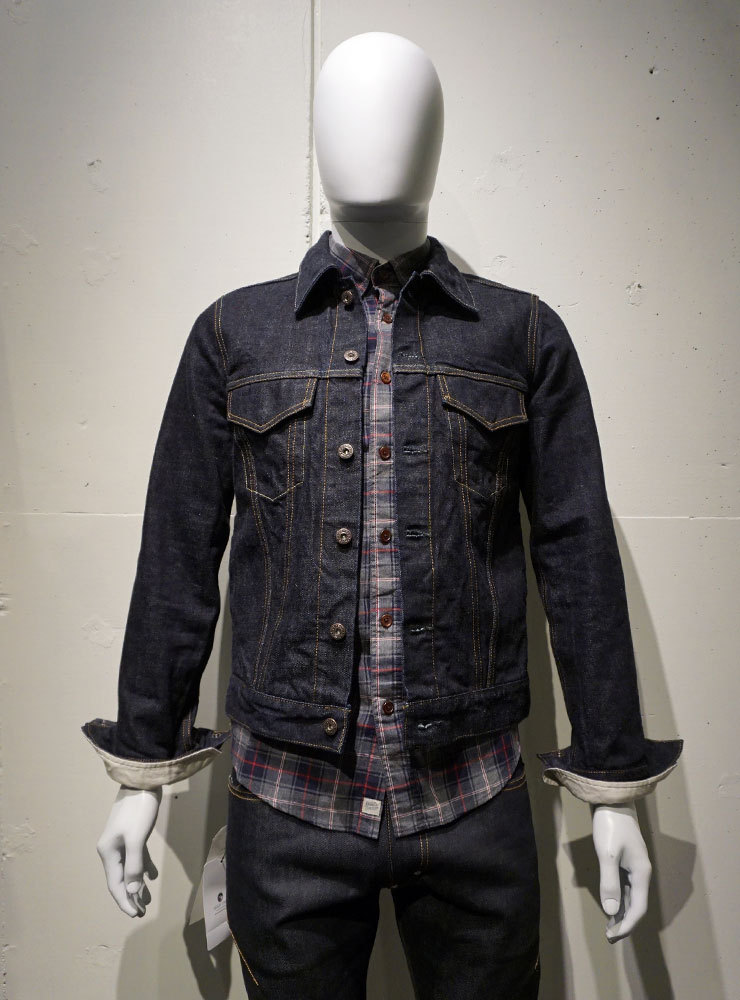 FUJITO Denim Jacket インディゴ