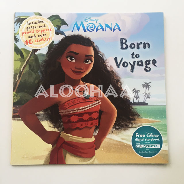 モアナと伝説の海 Born to Voyage アクティビティブック