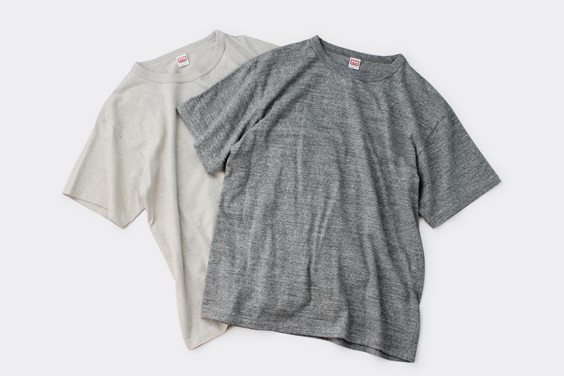 HEATHER CREW NECK TEE