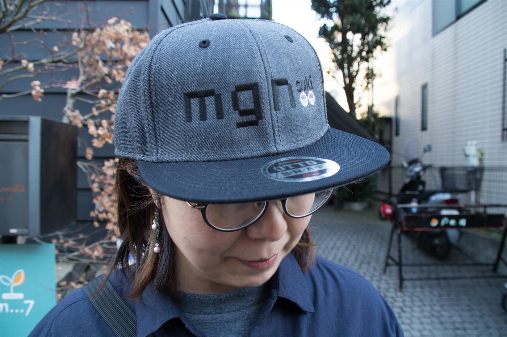 mgn(メガネ)sukiキャップ(単品)【送料込】