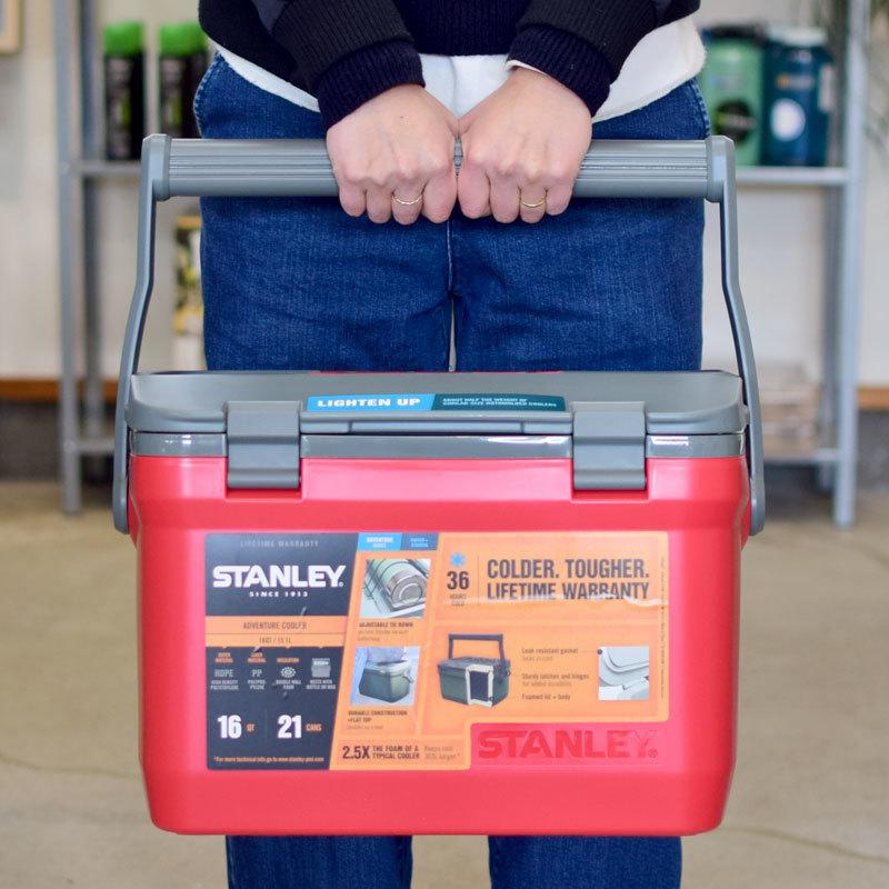 STANLEY(スタンレー)クーラーボックス 15.1L(レッド)