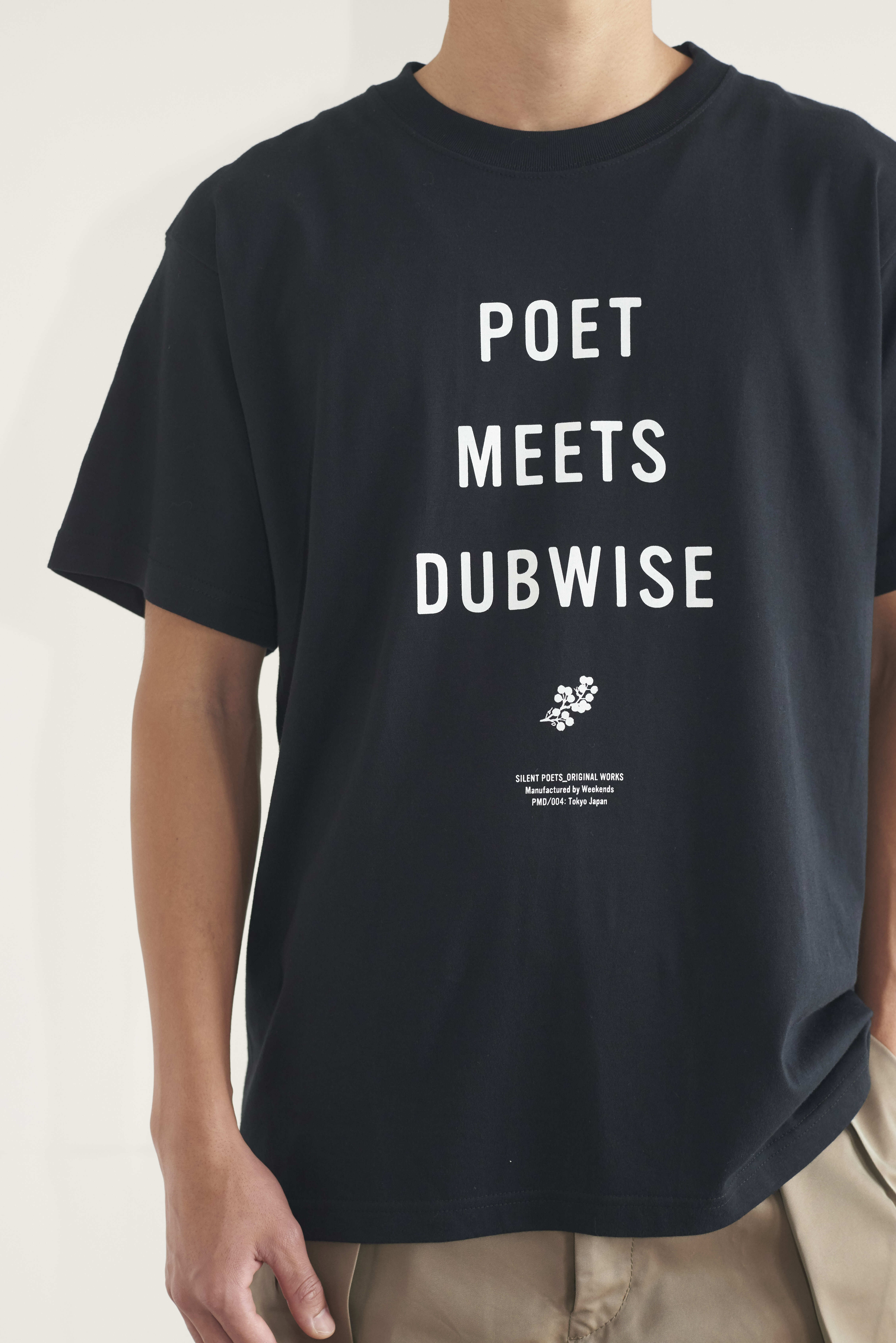 POET MEETS DUBWISE NEW PMD T-shirt