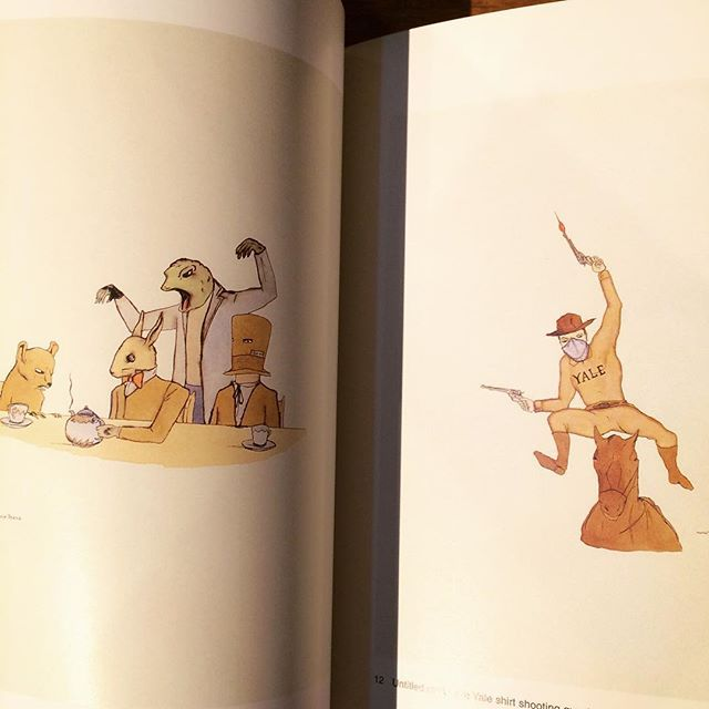 画集「Drawings by Marcel Dzama: From the Bernardi Collection」 - 画像3