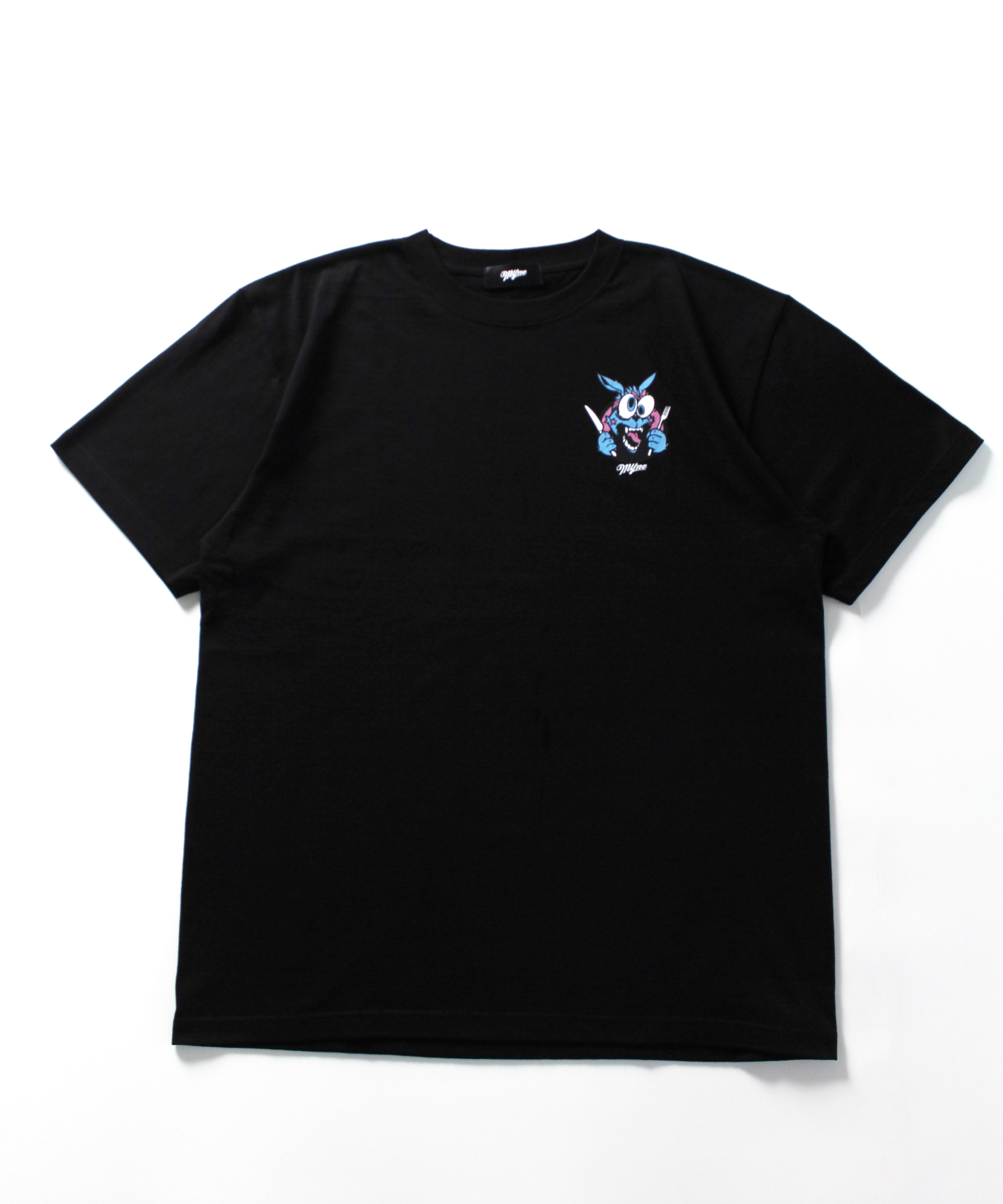 MYne CODEX 別注T-shirt / BLACK - 画像1