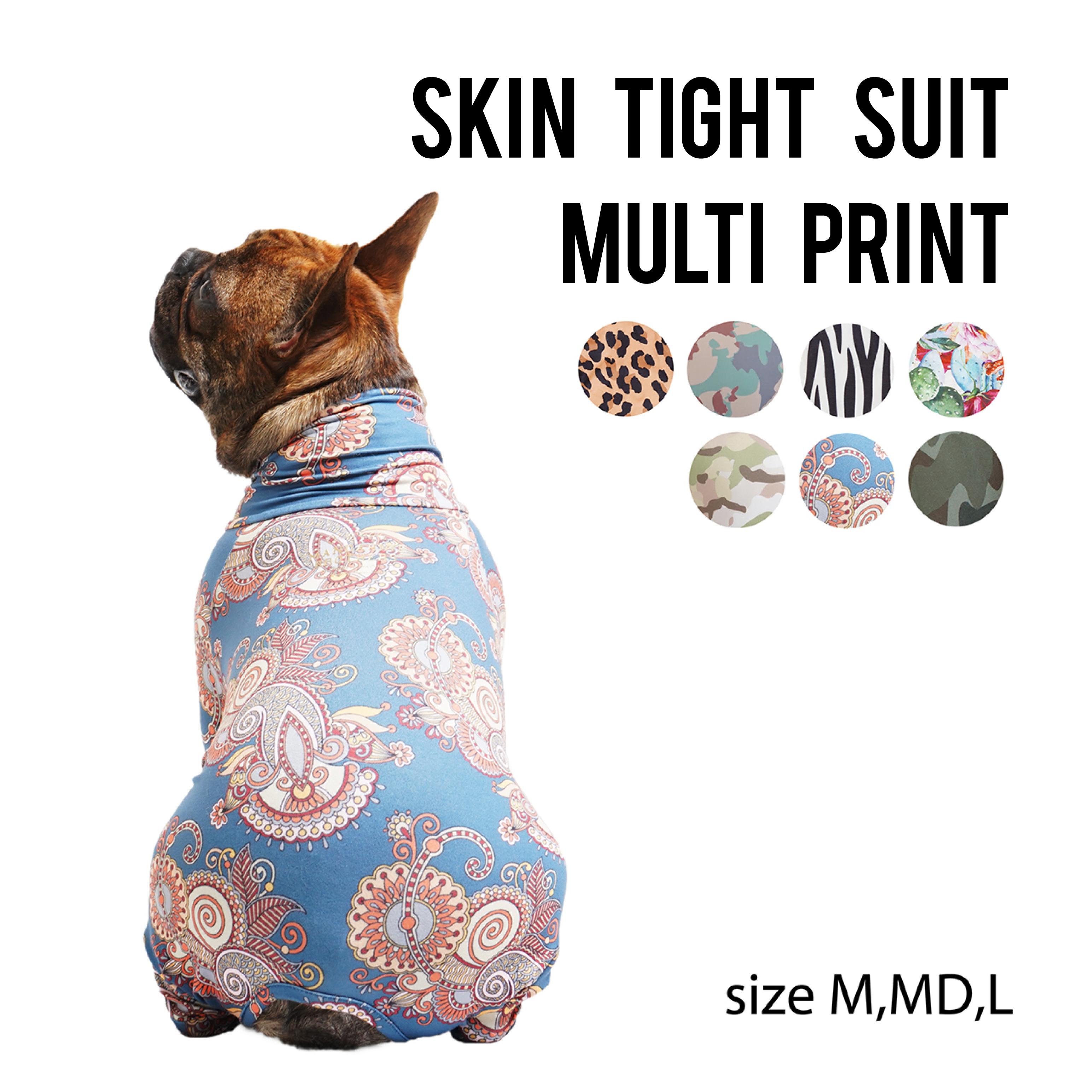 SKIN TIGHT SUIT MULTI PRINT(M,MD,L) スキンタイトスーツマルチプリント