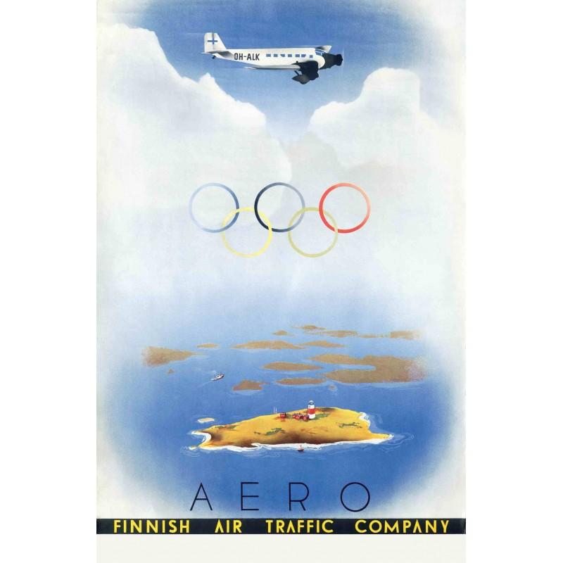 A4サイズ アートプリント 「オリンピック・アエロ」