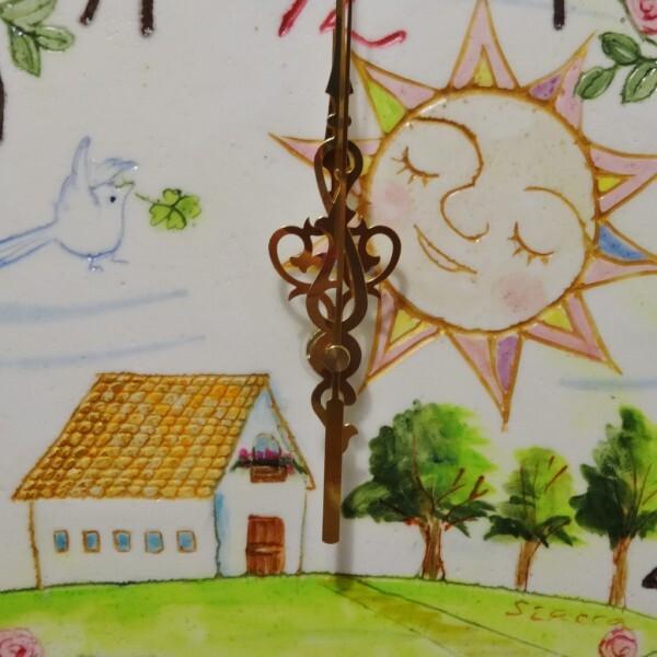 お家と太陽(25cm)