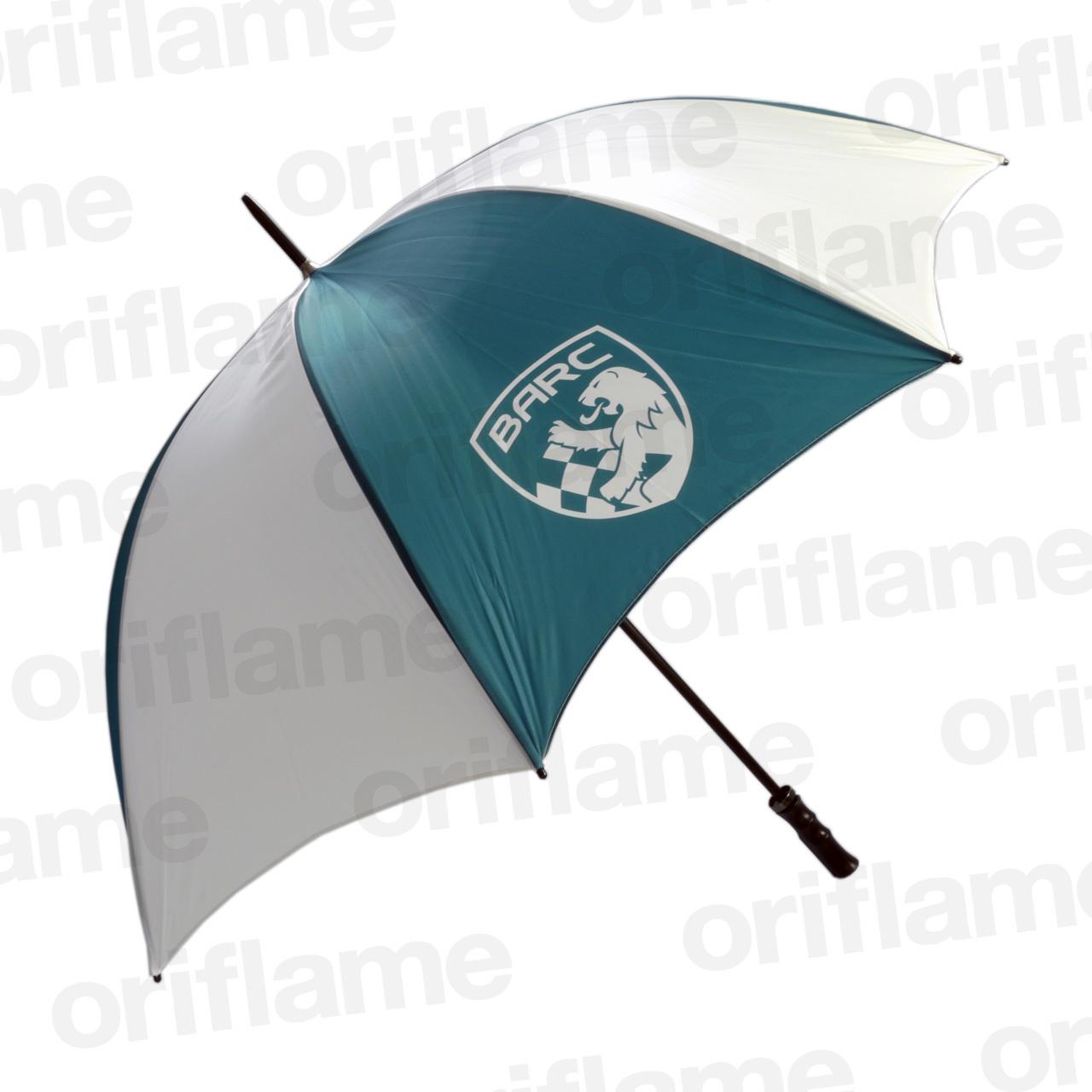 傘・BARC・プラスチックグリップ・グリーン&ホワイト