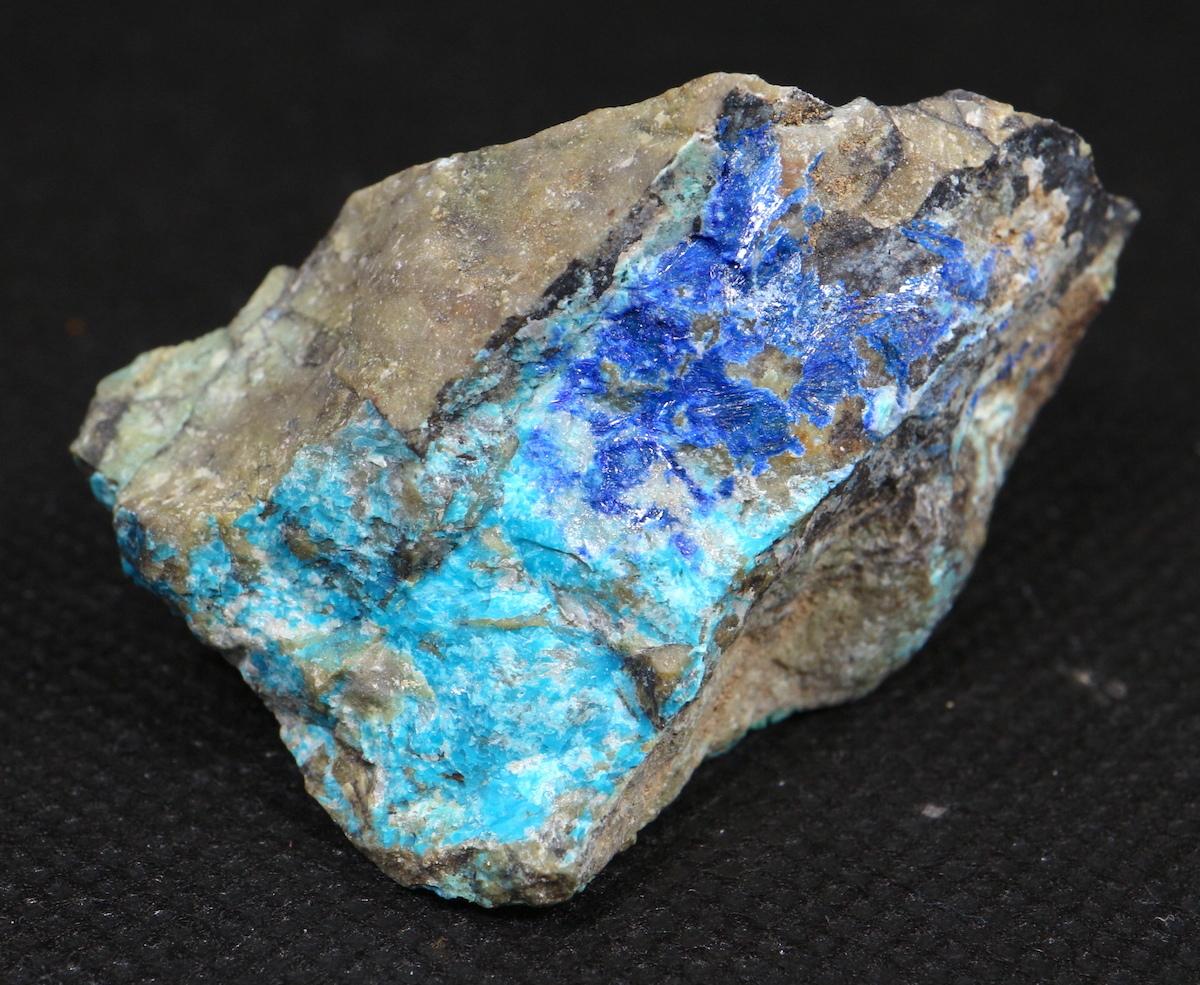 リナライト & カレドナイト 青鉛鉱 カレドニア石 49,9g LN009 鉱物 原石 天然石 パワーストーン