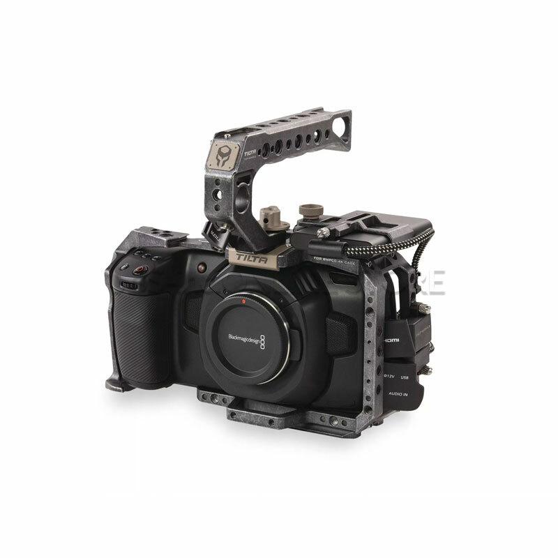 TILTA Camera Cage for BMPCC 4K – Basic Kit (Tactical Finish)