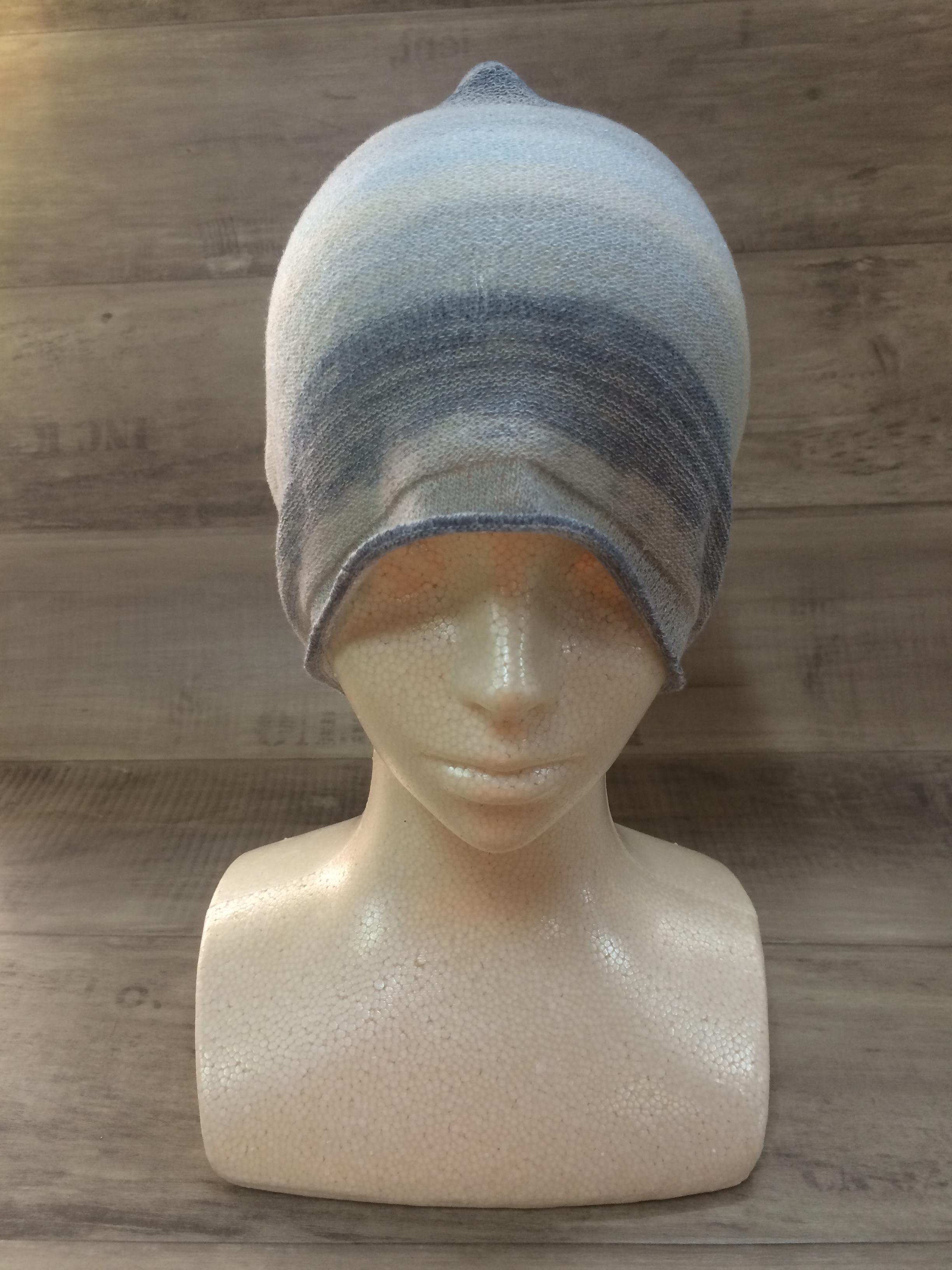 【送料無料】こころが軽くなるニット帽子amuamu|新潟の老舗ニットメーカーが考案した抗がん治療中の脱毛ストレスを軽減する機能性と豊富なデザイン NB-6059|空の海(そらのうみ) - 画像2