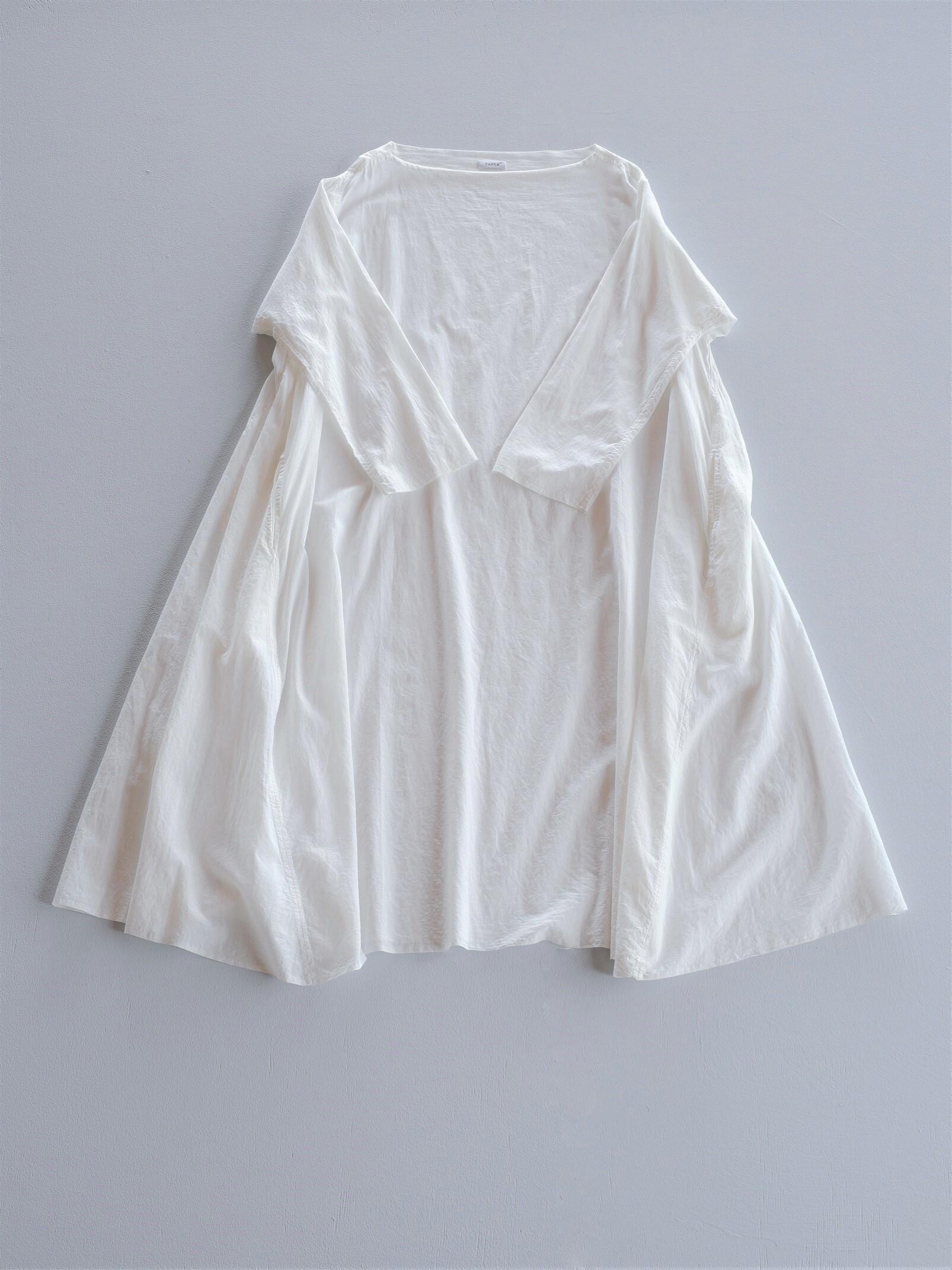 YAECA khadi |フレアドレス white
