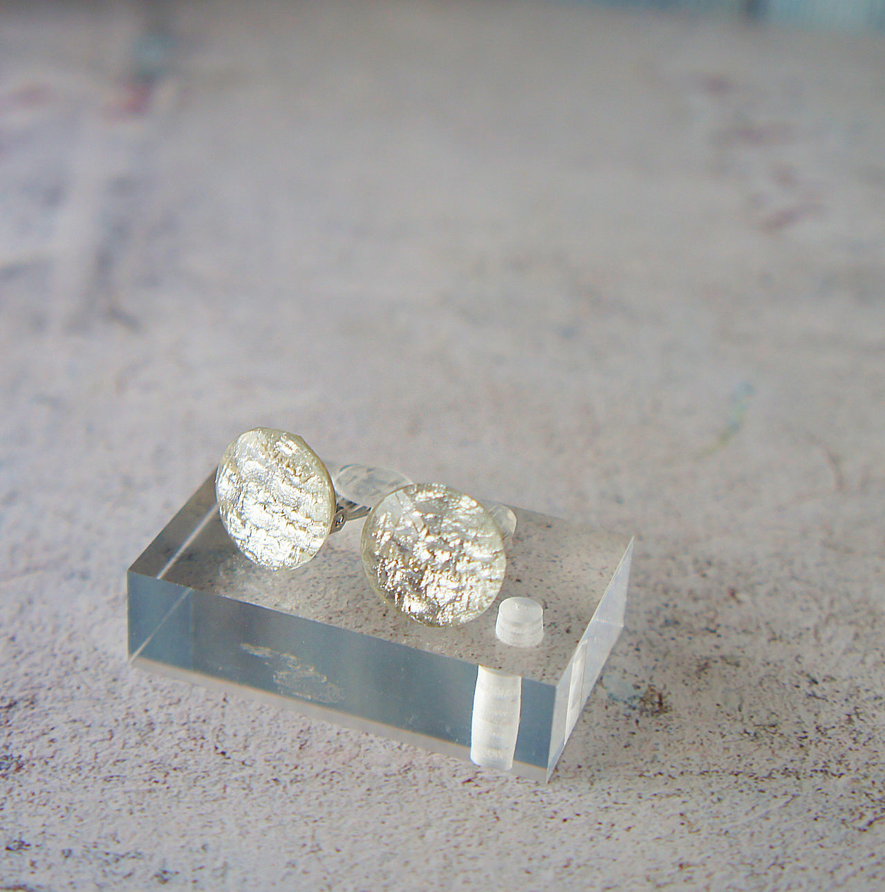 """ Earrings NO.0-1901″ シルバーサークル 16㎜"