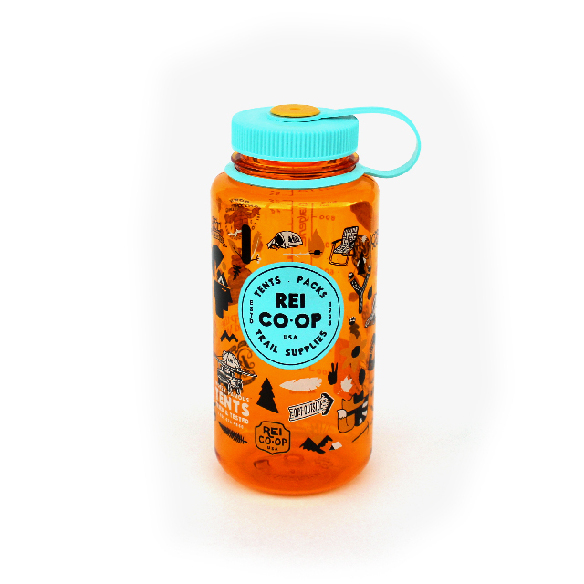 Special Edition / REI Nalgene Bottle 1L / for Outdoor