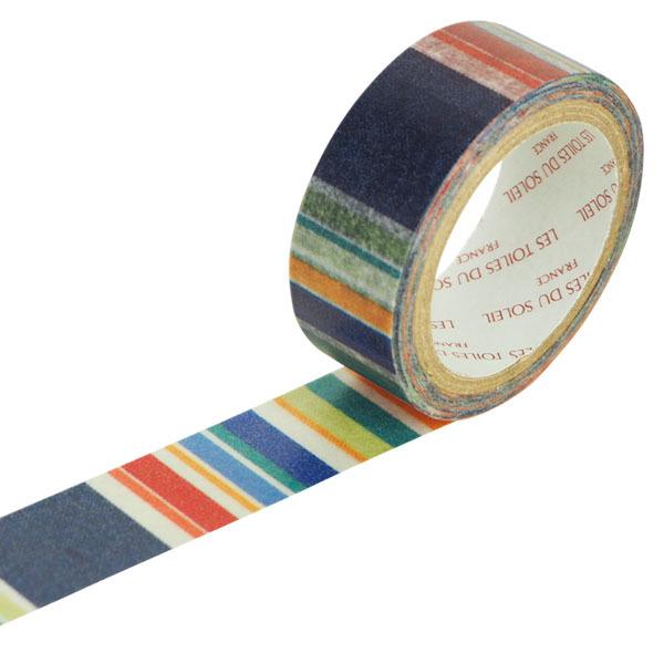 【LES TOILES DU SOLEIL】 マスキングテープ(プチ サン ローラン ド ラ サランク ブラン ロア/PETIT ST LAURENT DE LA SALANQUE Blanc Roy)
