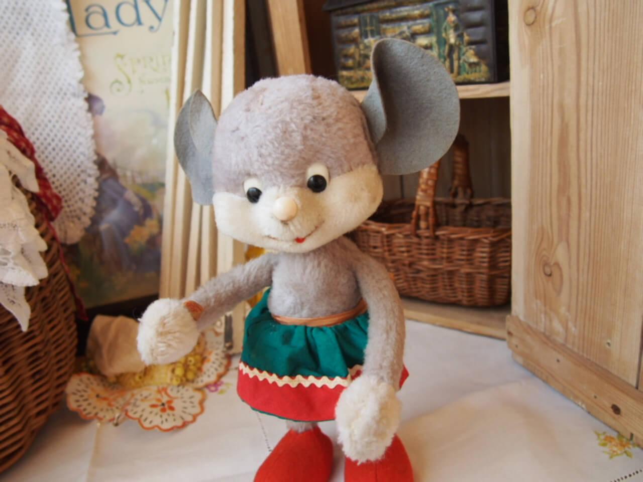 ドイツアンティーク ネズミ(Schuco・bigo-bello)