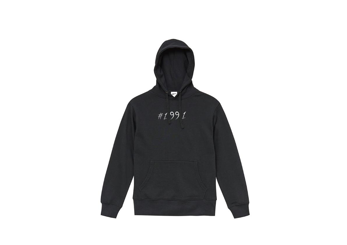 1991 hoodie(BLACK)