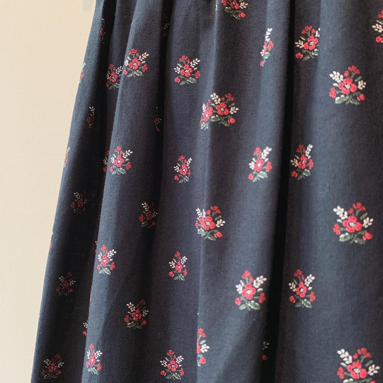 vintage design tyrol skirt