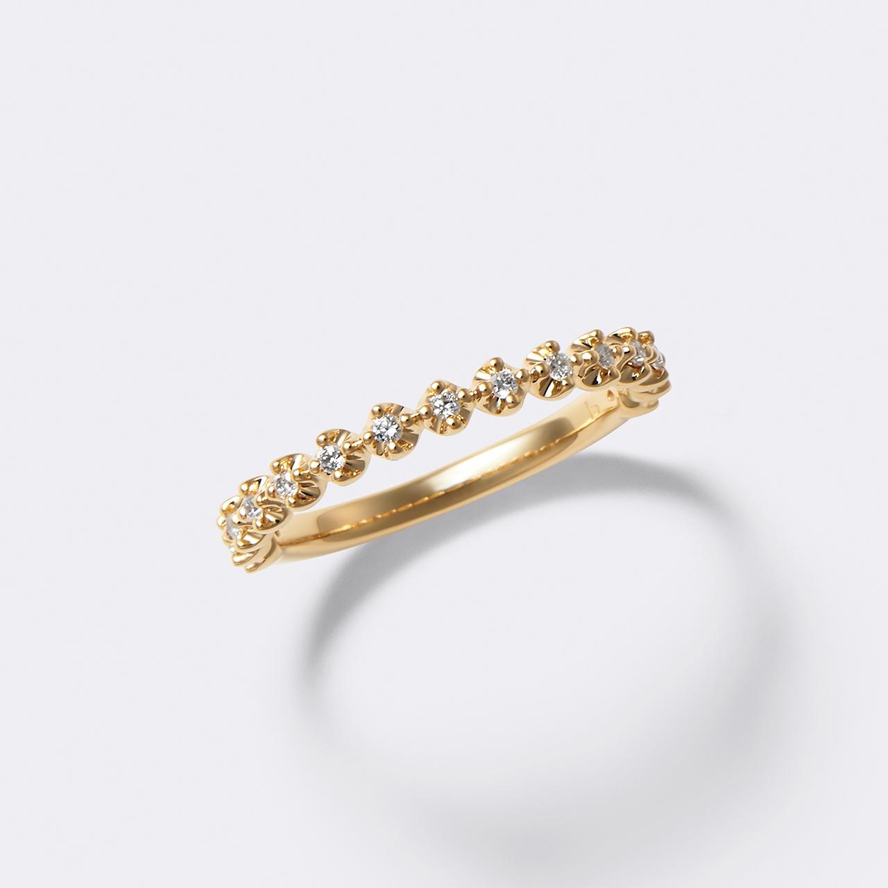 Lacrima Ring K18YG(ラクリマリング K18イエローゴールド)